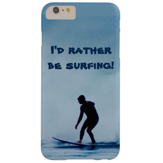 Funda Barely There iPhone 6 Plus Estaría practicando surf bastante la caja del