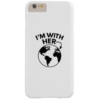 Funda Barely There iPhone 6 Plus Estoy con ella