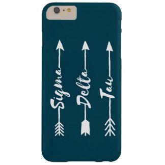 Funda Barely There iPhone 6 Plus Flecha del Tau el | del delta de la sigma