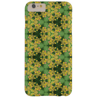 Funda Barely There iPhone 6 Plus Flor amarilla