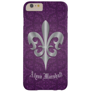 Funda Barely There iPhone 6 Plus Flor de lis