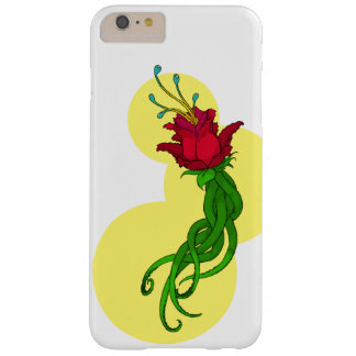 Funda Barely There iPhone 6 Plus Flor en amarillo