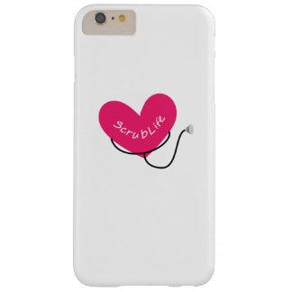 Funda Barely There iPhone 6 Plus Friegue el oficio de enfermera divertido de la
