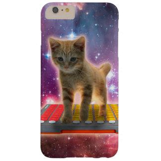 Funda Barely There iPhone 6 Plus gato del teclado - gato de tabby - gatito
