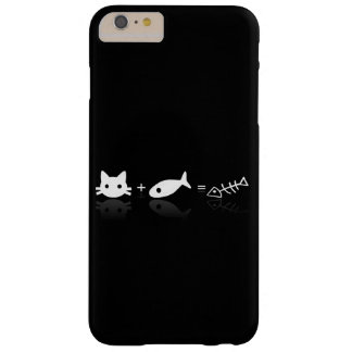 Funda Barely There iPhone 6 Plus Gato + Pescados