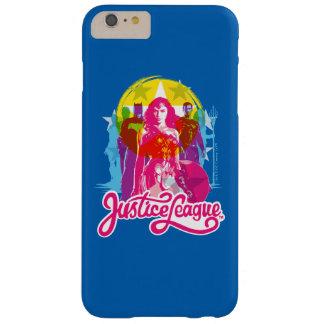 Funda Barely There iPhone 6 Plus Grupo de la liga de justicia el | y arte pop
