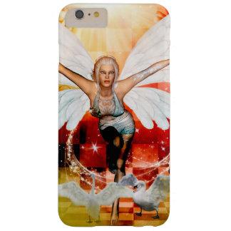 Funda Barely There iPhone 6 Plus Hada maravillosa con el cisne