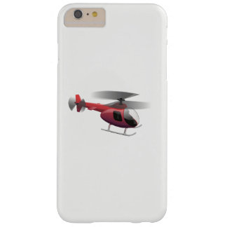 Funda Barely There iPhone 6 Plus Helicóptero