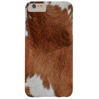 Funda Barely There iPhone 6 Plus Impresión de la piel de la vaca