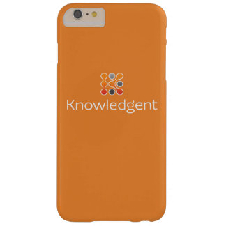 Funda Barely There iPhone 6 Plus iPhone 6/6S de Knowledgent más el caso