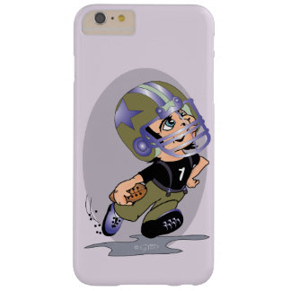 Funda Barely There iPhone 6 Plus iPhone 6/6s del DIBUJO ANIMADO del FÚTBOL de