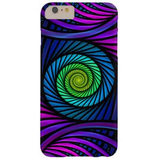 Funda Barely There iPhone 6 Plus iPhone abstracto colorido del fractal 6 casos más