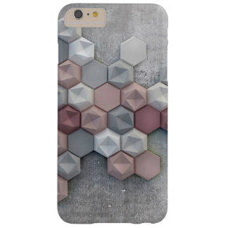 Funda Barely There iPhone 6 Plus iPhone arquitectónico 6/6s de los hexágonos más la