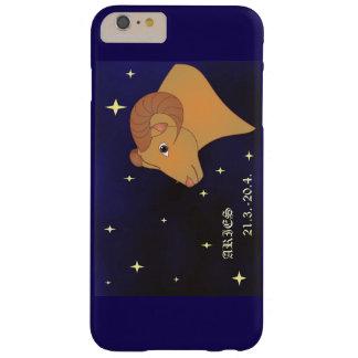 Funda Barely There iPhone 6 Plus iPhone de la muestra del zodiaco del aries/caso