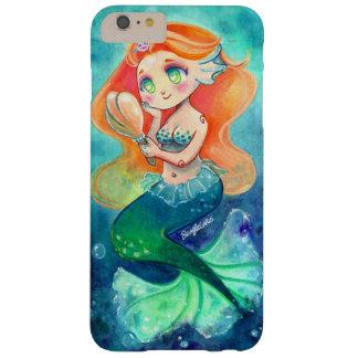 Funda Barely There iPhone 6 Plus iPhone lindo 6/6s de la sirena más la caja del