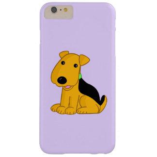 Funda Barely There iPhone 6 Plus iPhone sonriente 6/6s de Airedale Terrier más el