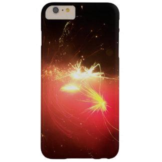 Funda Barely There iPhone 6 Plus Iphonecase de los fuegos artificiales