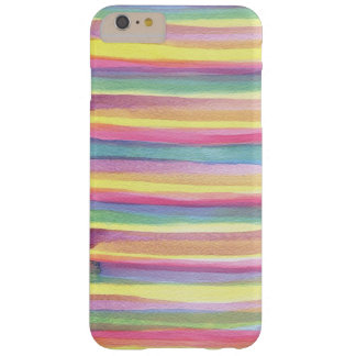 Funda Barely There iPhone 6 Plus La acuarela bonita colorea la caja del teléfono