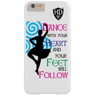 Funda Barely There iPhone 6 Plus La danza con su corazón y sus pies seguirá