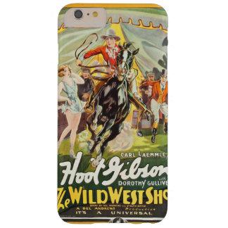 Funda Barely There iPhone 6 Plus La demostración del oeste salvaje (Universal,