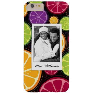 Funda Barely There iPhone 6 Plus La fruta cítrica coloreada multi el | añade su