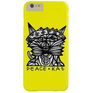 """Funda Barely There iPhone 6 Plus La """"paz Kat"""" Apple y Samsung llama por teléfono al"""