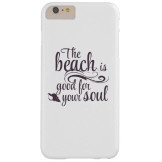 Funda Barely There iPhone 6 Plus La playa es buena para su alma