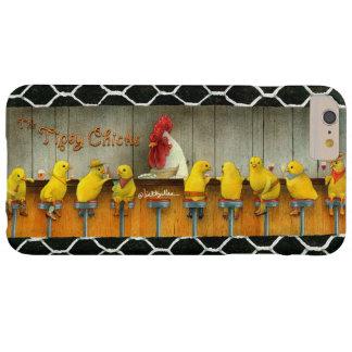 Funda Barely There iPhone 6 Plus Las ampollas llaman por teléfono al caso