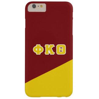 Funda Barely There iPhone 6 Plus Letras del Griego de la theta el   de Kappa de la