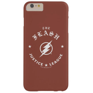 Funda Barely There iPhone 6 Plus Liga de justicia el | el emblema retro de destello
