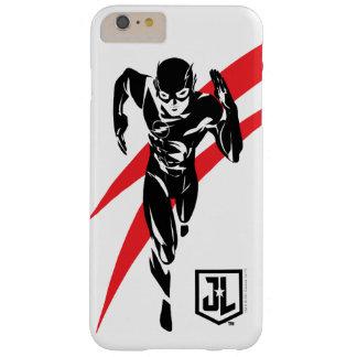 Funda Barely There iPhone 6 Plus Liga de justicia el | el flash que corre arte pop