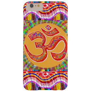 Funda Barely There iPhone 6 Plus MANTRA: Indio de la meditación de la yoga del