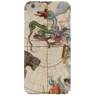Funda Barely There iPhone 6 Plus Mapa del vintage del Polo Norte