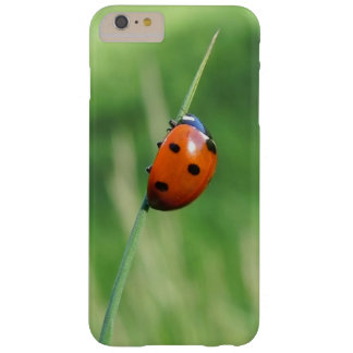 Funda Barely There iPhone 6 Plus Mariquita en una cuchilla de la hierba