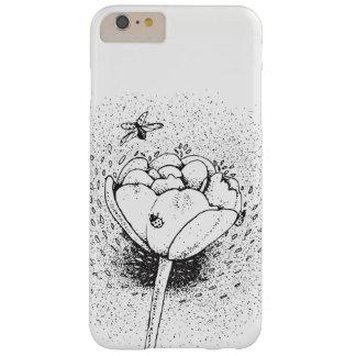 Funda Barely There iPhone 6 Plus Mariquitas y caso de los tulipanes