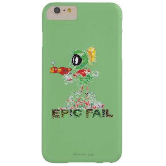 Funda Barely There iPhone 6 Plus MARVIN el fall épico de MARTIAN™