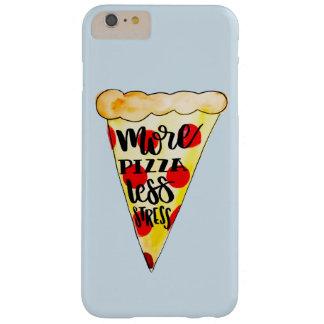 Funda Barely There iPhone 6 Plus Más pizza menos tensión Phonecase