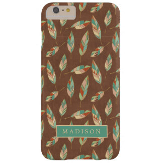 Funda Barely There iPhone 6 Plus Modelo de la pluma del sudoeste del paso el | de