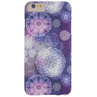 Funda Barely There iPhone 6 Plus Modelo de lujo floral de la mandala