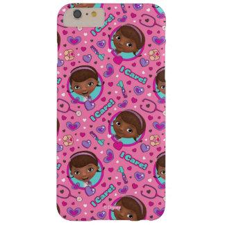 Funda Barely There iPhone 6 Plus Modelo del rosa del cuidado del doc. McStuffins el