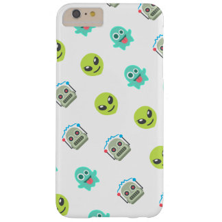 Funda Barely There iPhone 6 Plus Modelo extranjero fresco de la cara del robot del