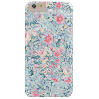 Funda Barely There iPhone 6 Plus Modelo floral de la pintura
