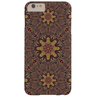 Funda Barely There iPhone 6 Plus Modelo floral étnico abstracto colorido de la
