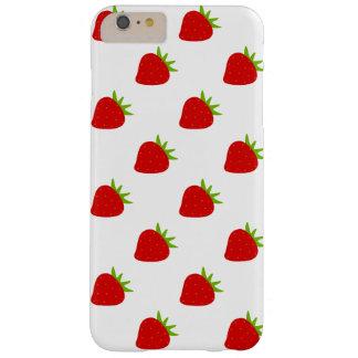 Funda Barely There iPhone 6 Plus Modelo lindo el | de la fresa
