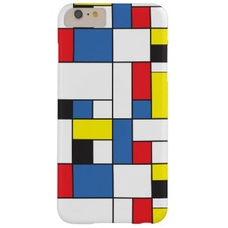 Funda Barely There iPhone 6 Plus Mondrian inspiró el caso
