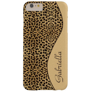 Funda Barely There iPhone 6 Plus Monograma adornado del modelo femenino del
