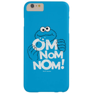 Funda Barely There iPhone 6 Plus ¡Monstruo de la galleta el | OM Nom Nom!