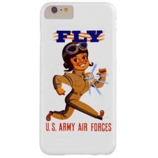 Funda Barely There iPhone 6 Plus Mosca - caja del teléfono de las fuerzas aéreas