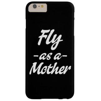 Funda Barely There iPhone 6 Plus Mosca como caja del teléfono de la madre