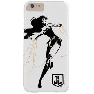 Funda Barely There iPhone 6 Plus Mujer Maravilla de la liga de justicia el | con